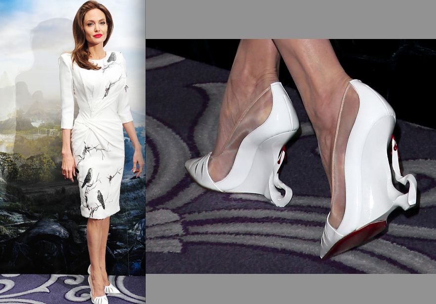c321f666b32d Christian Louboutin Designs Shoes for Maleficent s Angelina Jolie ...