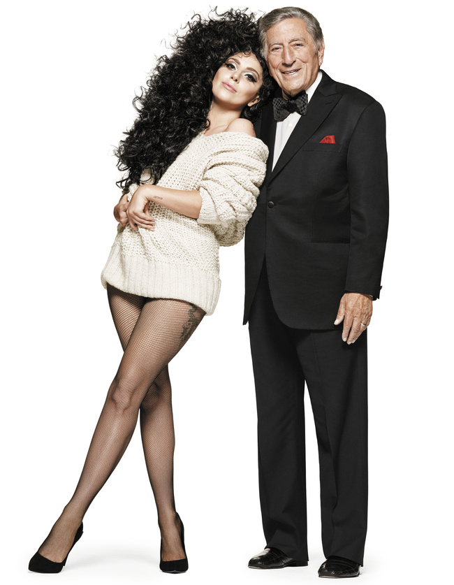 lady gaga and tony bennett for hm christmas campaign - Hm Christmas