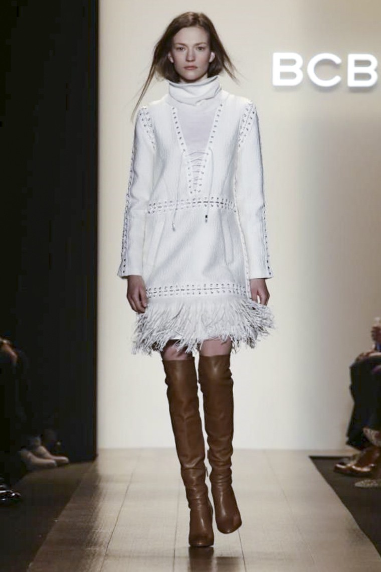 BCBG MAXAZRIA Fall Winter 2015 at NYFW • Rossana Vanoni