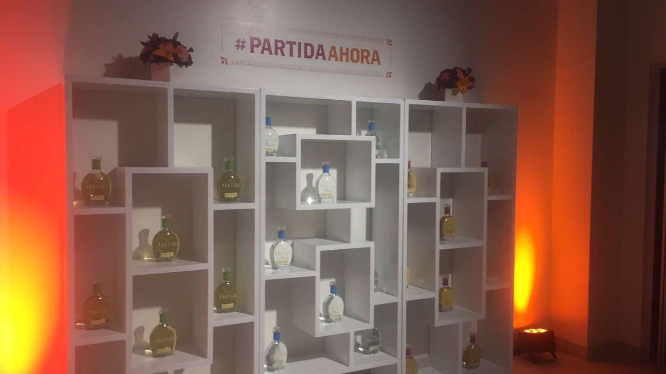 A colorful evening with Partida Tequila