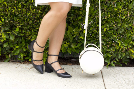 Lace Up Dress Shoes and Bag