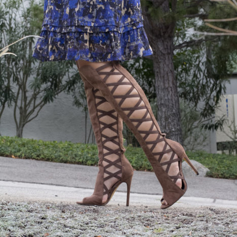 All About the Cage Boots For Fall