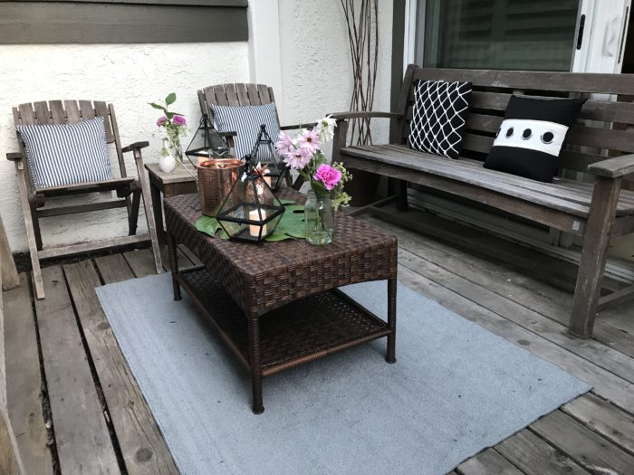Outdoor Simple Refresh with Pier 1-10