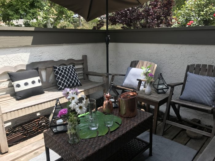 Outdoor Simple Refresh with Pier 1-4