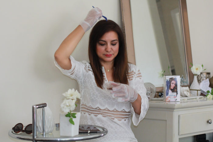 Clairol Nice 'n Easy Root Touch-Up how to apply