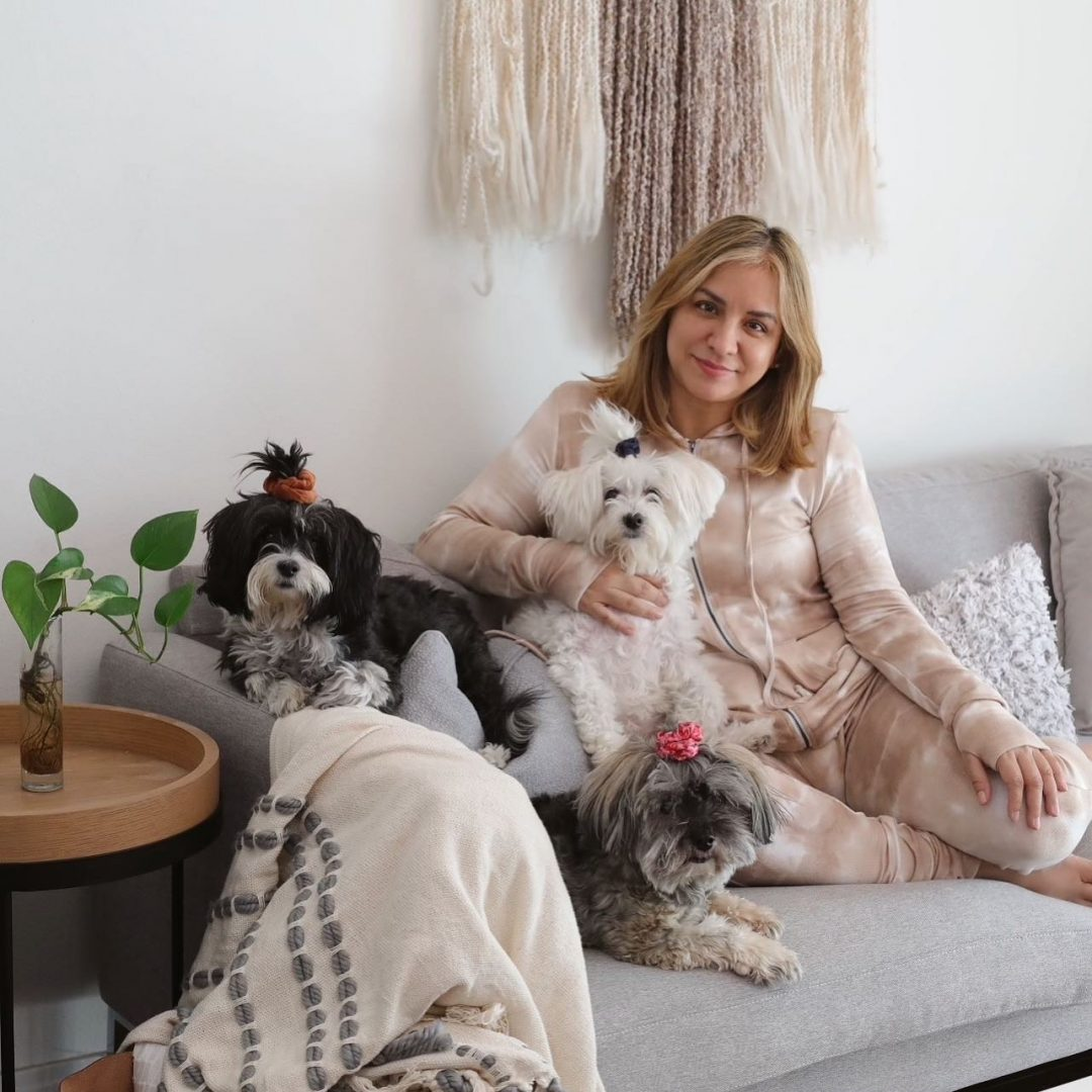 Rossana and pets